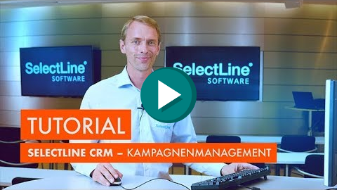Youtube SelectLine CRM Kampagnenmanagement