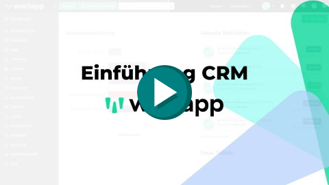 Youtube weclapp CRM
